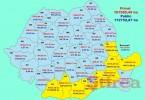 harta judete terenuri agr