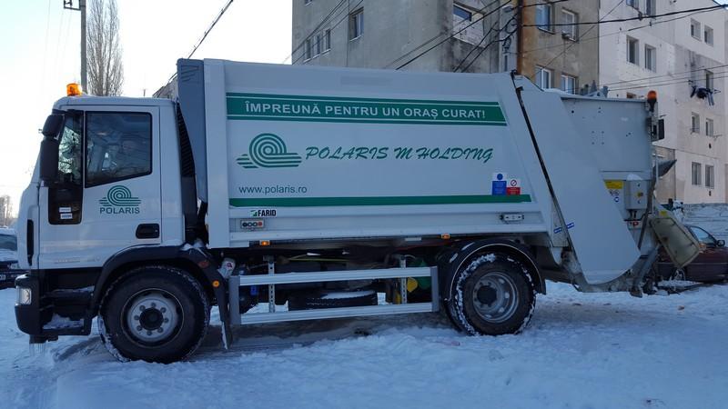 POLARIS masina iarna