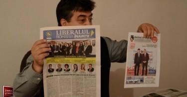 Gheorghe Tinel ziare