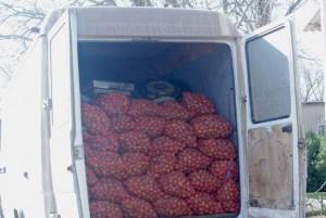cartofi confiscati