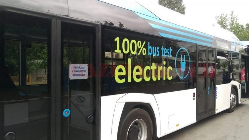 Autobuz electric 100
