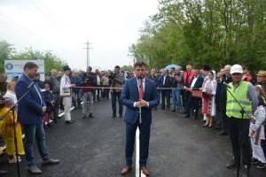 Podul Dridu inaugurare 2