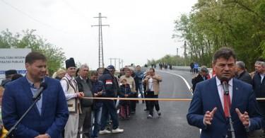Podul Dridu inaugurare